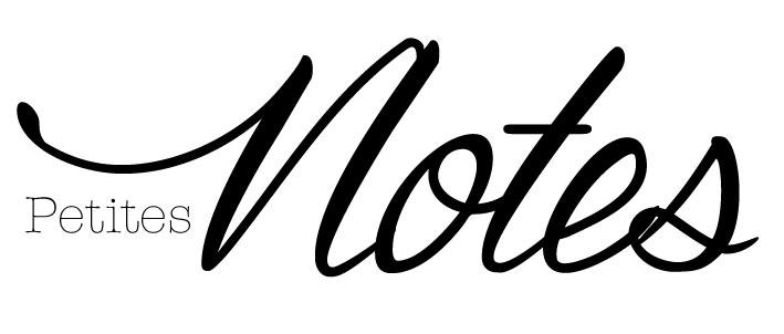 Etiquette à imprimer Petites Notes par Australe Créations