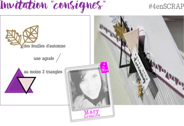 Invitation consignes Mary