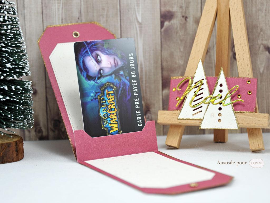 Pochette Tag pour Carte Cadeau
