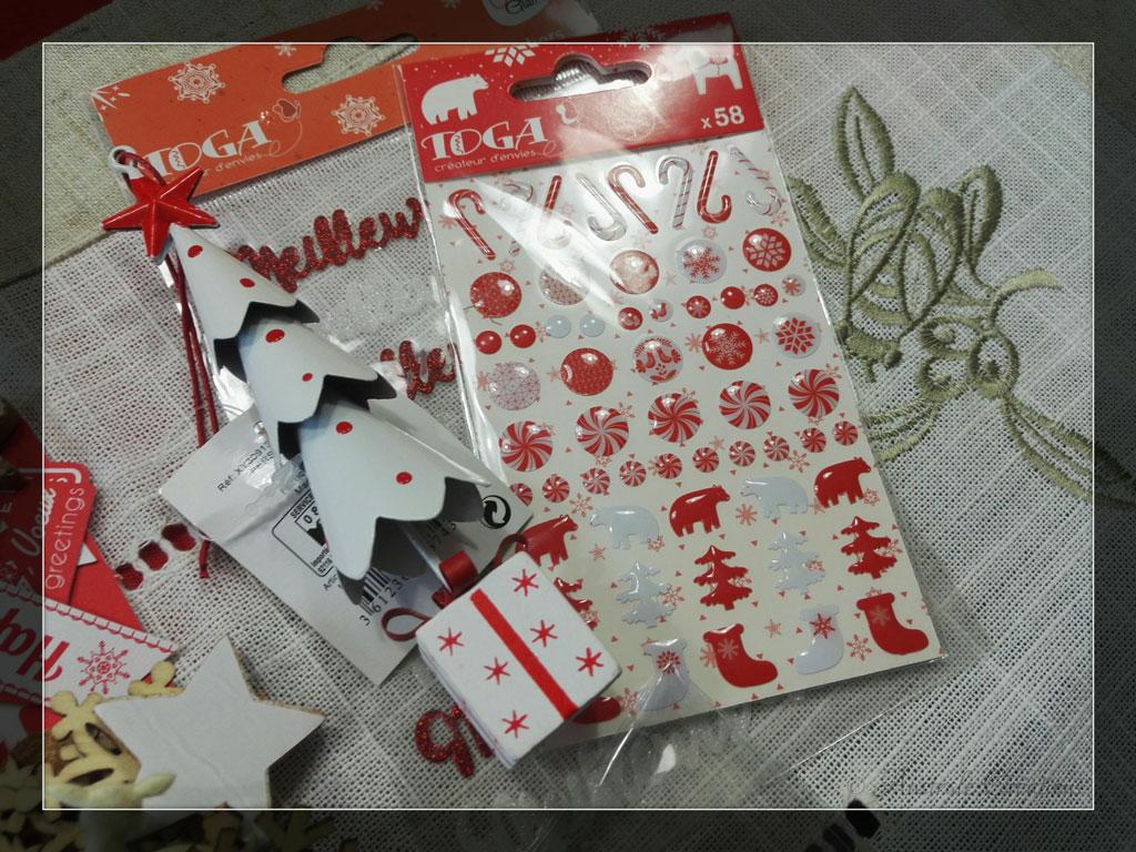 Pocket Letter de Noël par Maryse