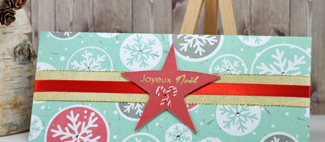 Noël 2016 #15 : Pochette Cadeau