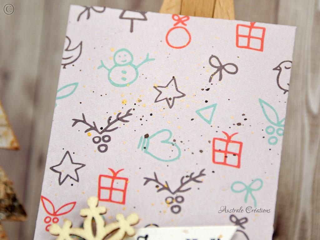 Noel 2016 #16 Pochette et boite cadeaux