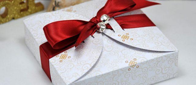 Noël 2016 #16 : Pochette & boite cadeaux