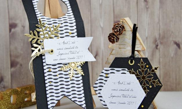 Voeux 2017 #4 : Etiquettes Cadeaux