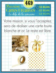 Passion Carte Creative défi 469