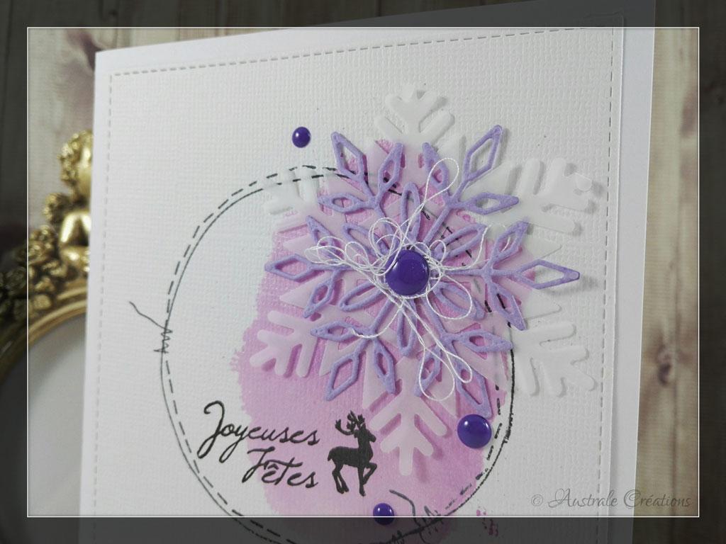 Carte Joyeuses Fêtes par Margrit