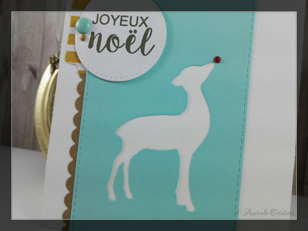 Carte Joyeux Noel par Laurence