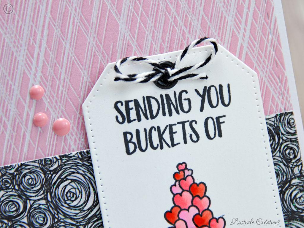 Carte Buckets of Love