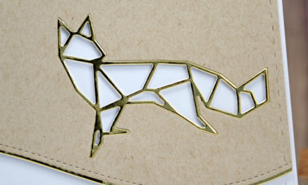 Carte : Origami Fox