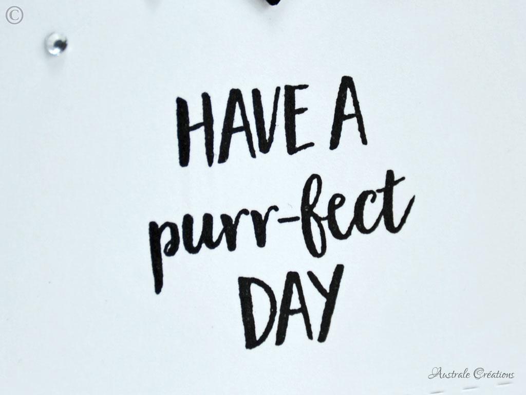 Carte Purr-fect Day
