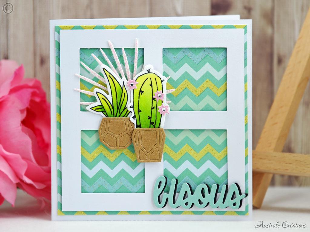 Carte Coeur de Cactus