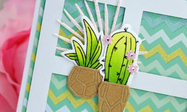 Carte : Coeur de Cactus