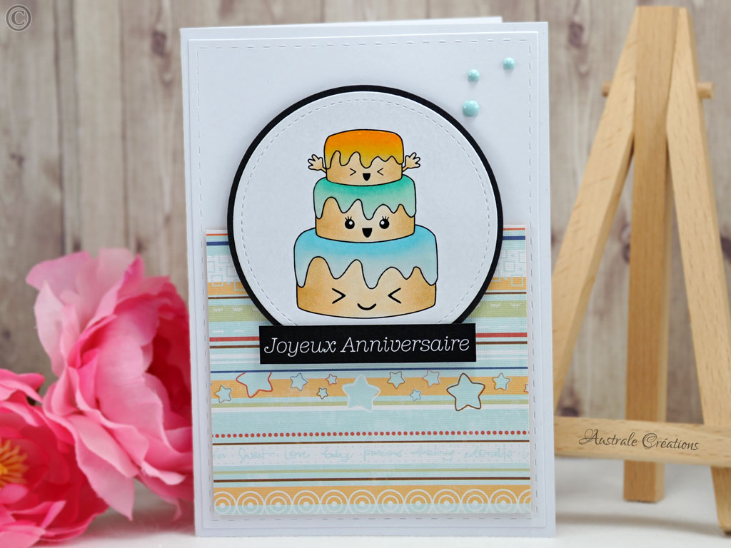 Carte Kawaii Birthday