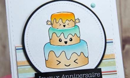 Carte : Kawaï Birthday