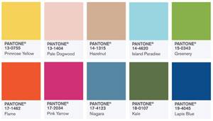Pantone Printemps 2017