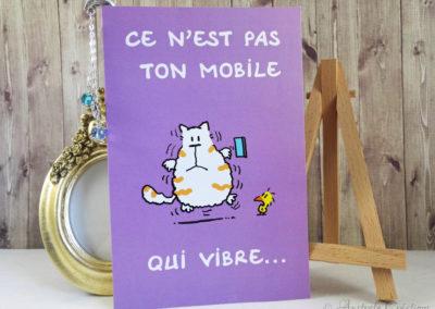 Carte et Marque Page par Aurounette