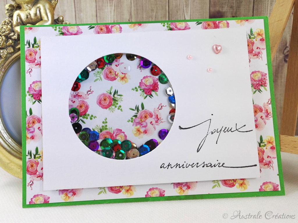 Carte Joyeux Anniversaire Par Jocelyne Australe Creations