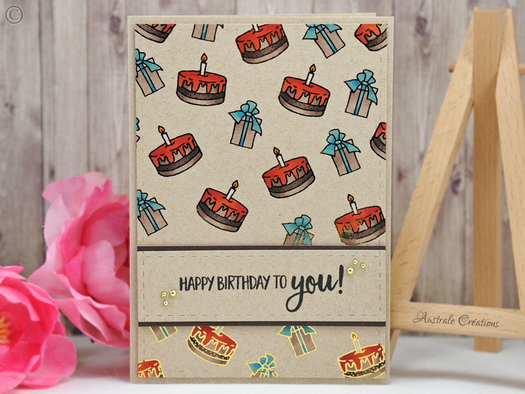 Carte Gift and Cake