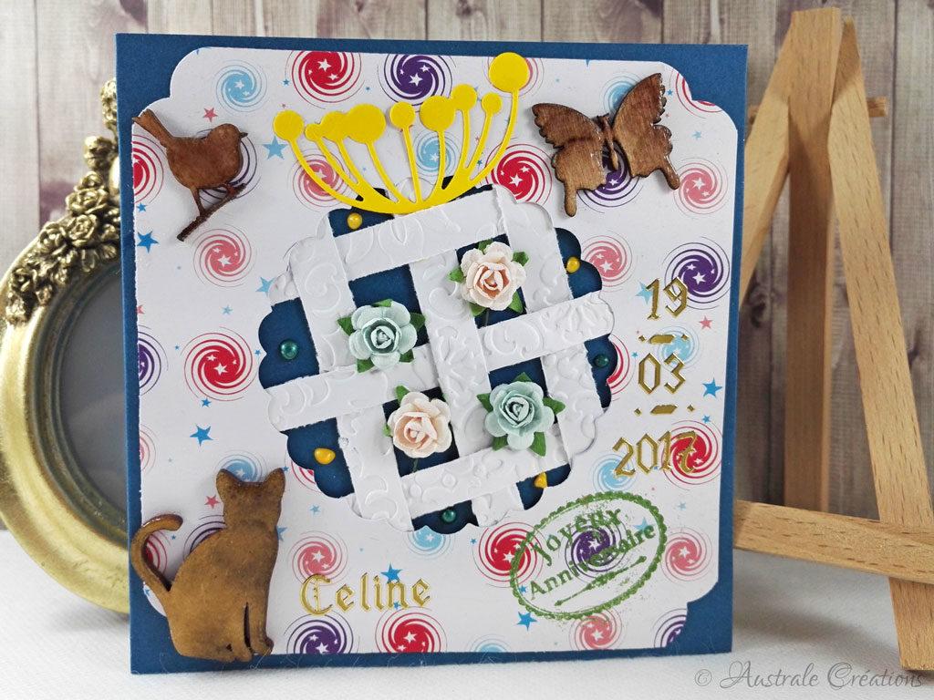 Carte Joyeux Anniversaire par Colette