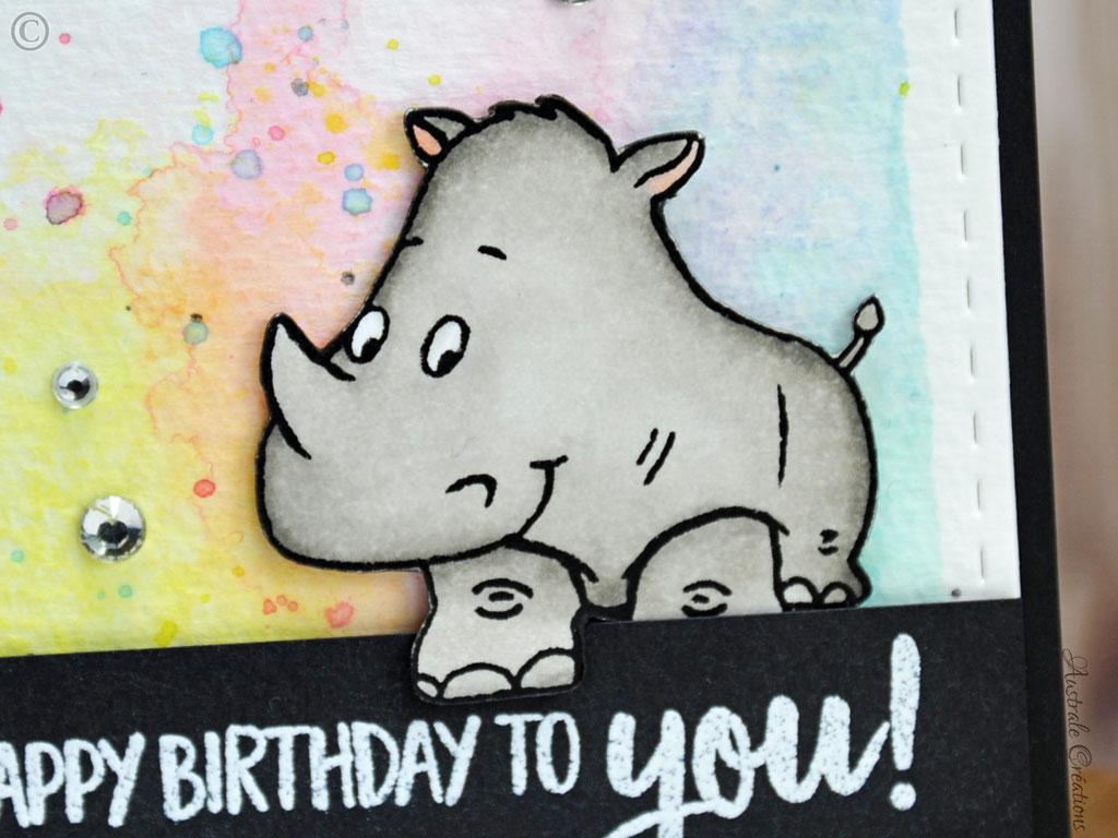Carte-Rhino Birthday