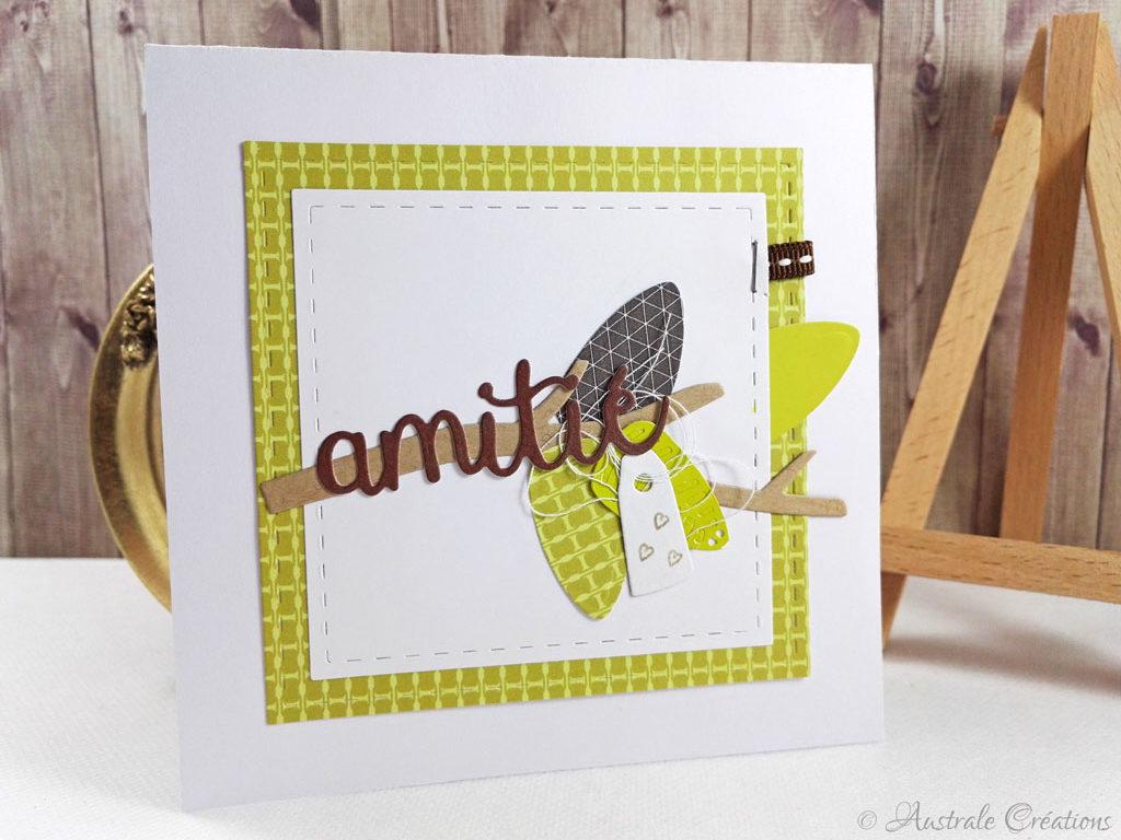 Carte Amitié par Mamily