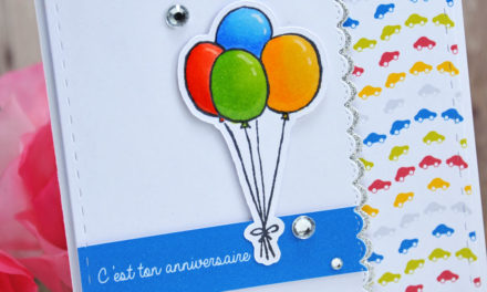 Carte : C'est ton anniversaire !
