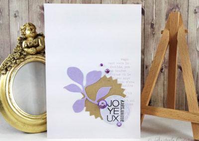Carte Joyeux Anniversaire par Edwige