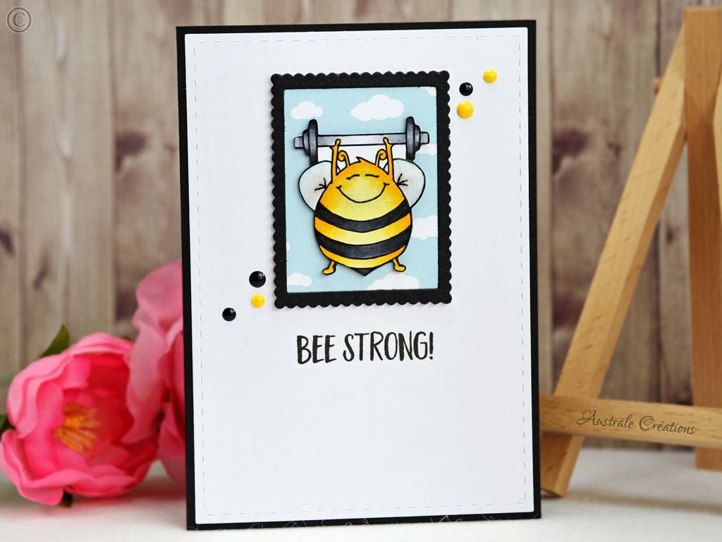 Carte Bee Strong