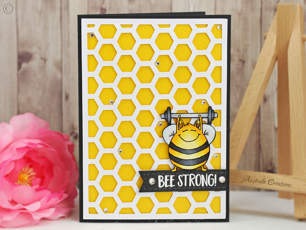 Carte Bee Strong Honey