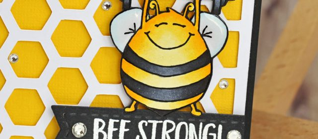 Carte : Bee Strong Honey