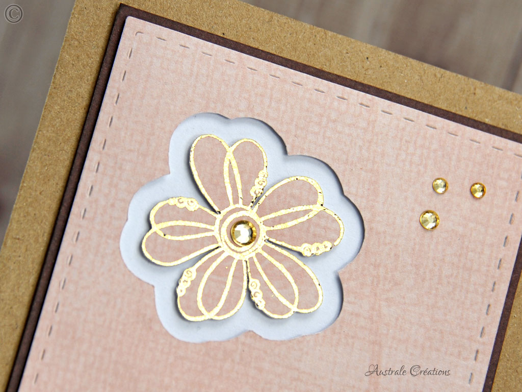 Carte Lace Flower