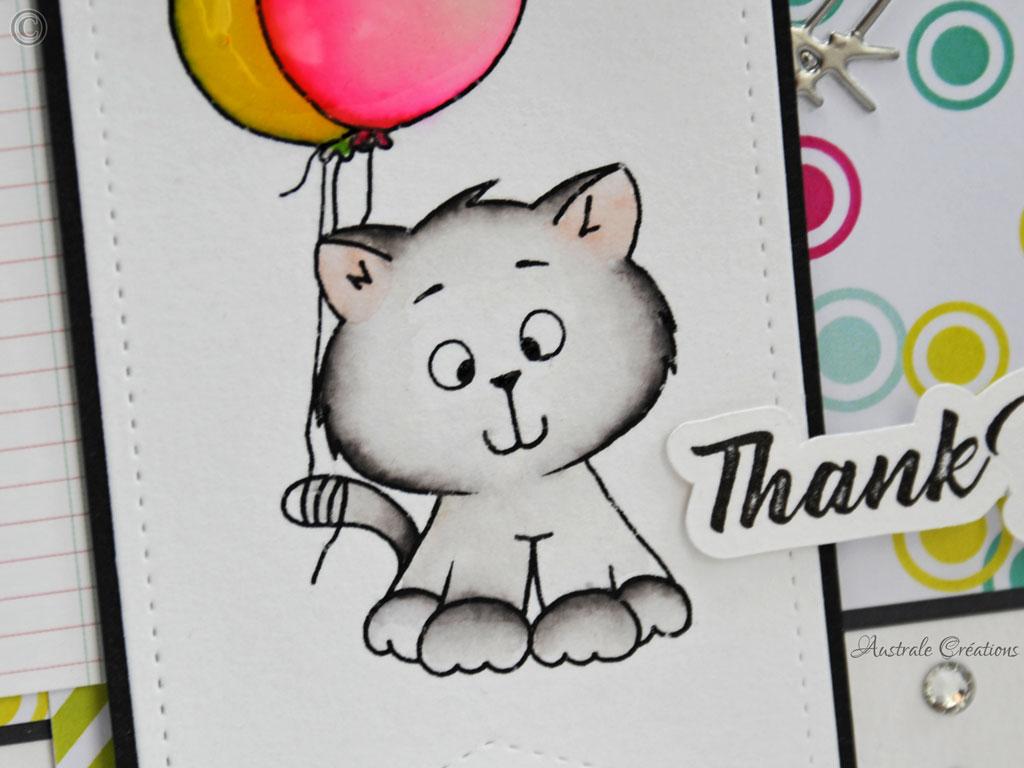 Carte Some ballons to say...
