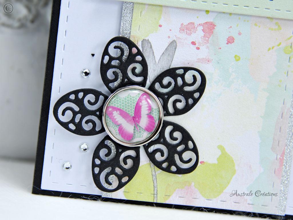 Carte Le Bonheur Papillonne