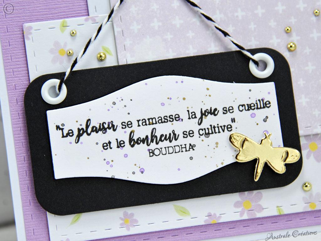 Carte Plaisir Joie Bonheur