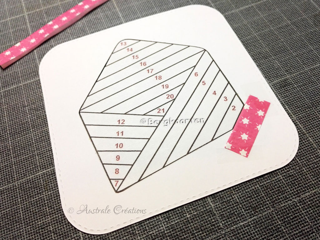 Tutoriel Iris Folding