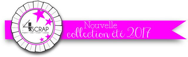4enscrap Bandeau collection été 2017