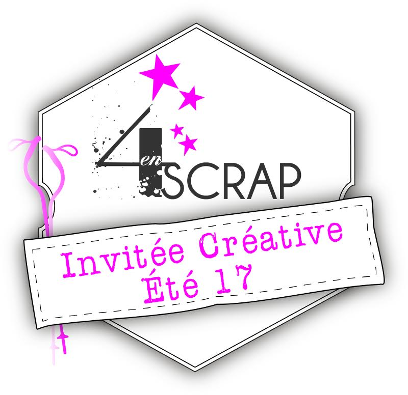 4enscrap Invitée créative été 2017