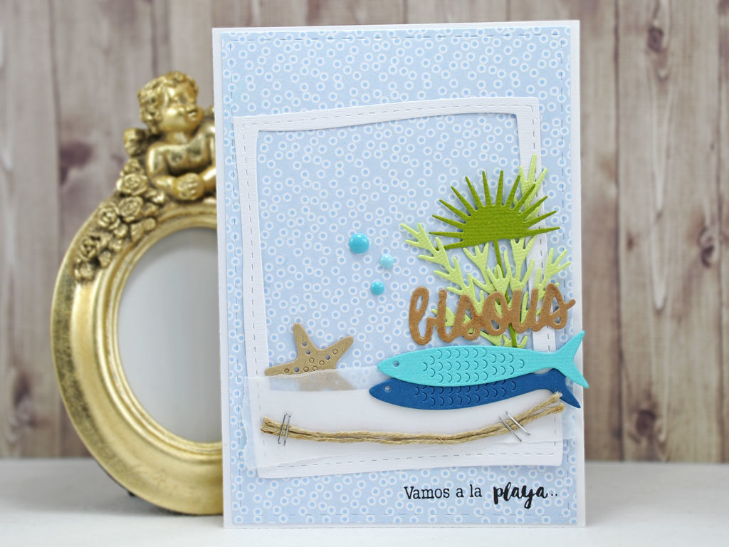 Carte Vamos a la Playa par Mamily