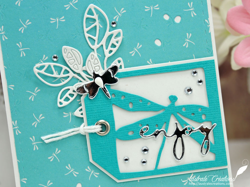 Carte Enjoy Dragonfly