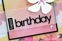 Carte : Tropical Birthday