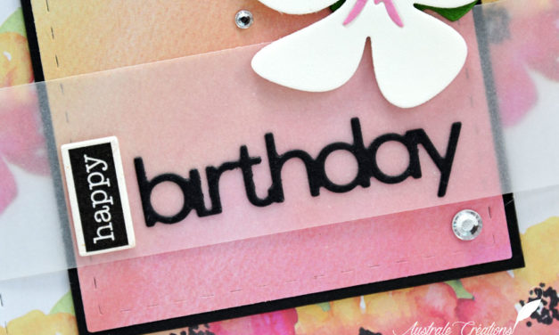 Carte : Tropical Birthday