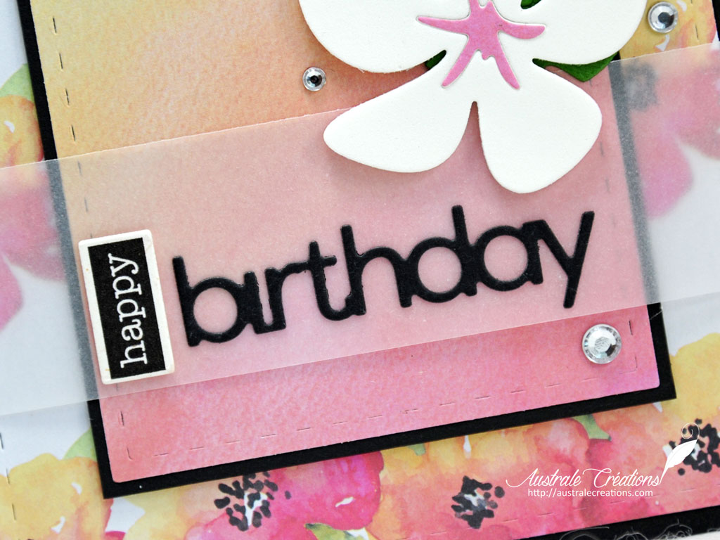 Carte Tropical Birthday