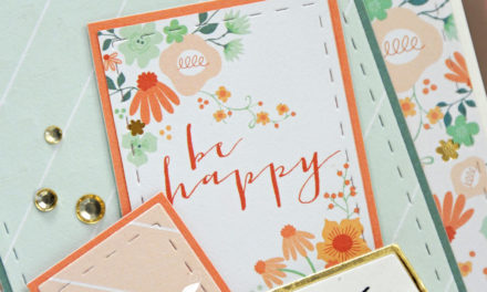 Carte : Be Happy and Smile