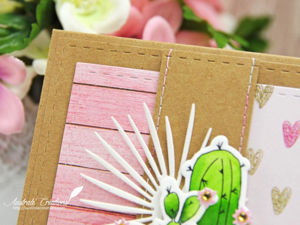 Carte Tendres Cactus