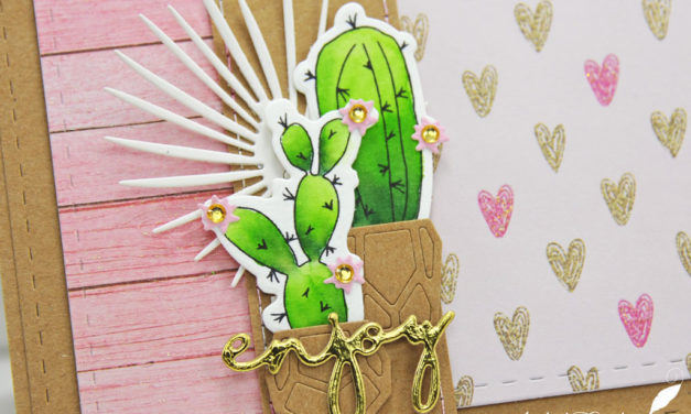 Carte : Tendres Cactus