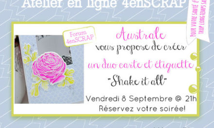 4enscrap Atelier « Shake it all »