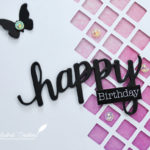 Carte : Happy Birthday