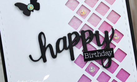 Carte : Happy Birthday