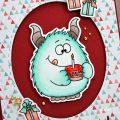 Carte Happy Cake Monster