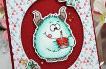 Carte : Happy Cake Monster